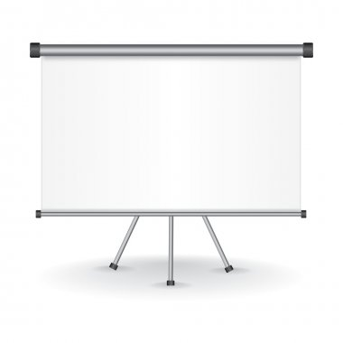Blank Projection screen