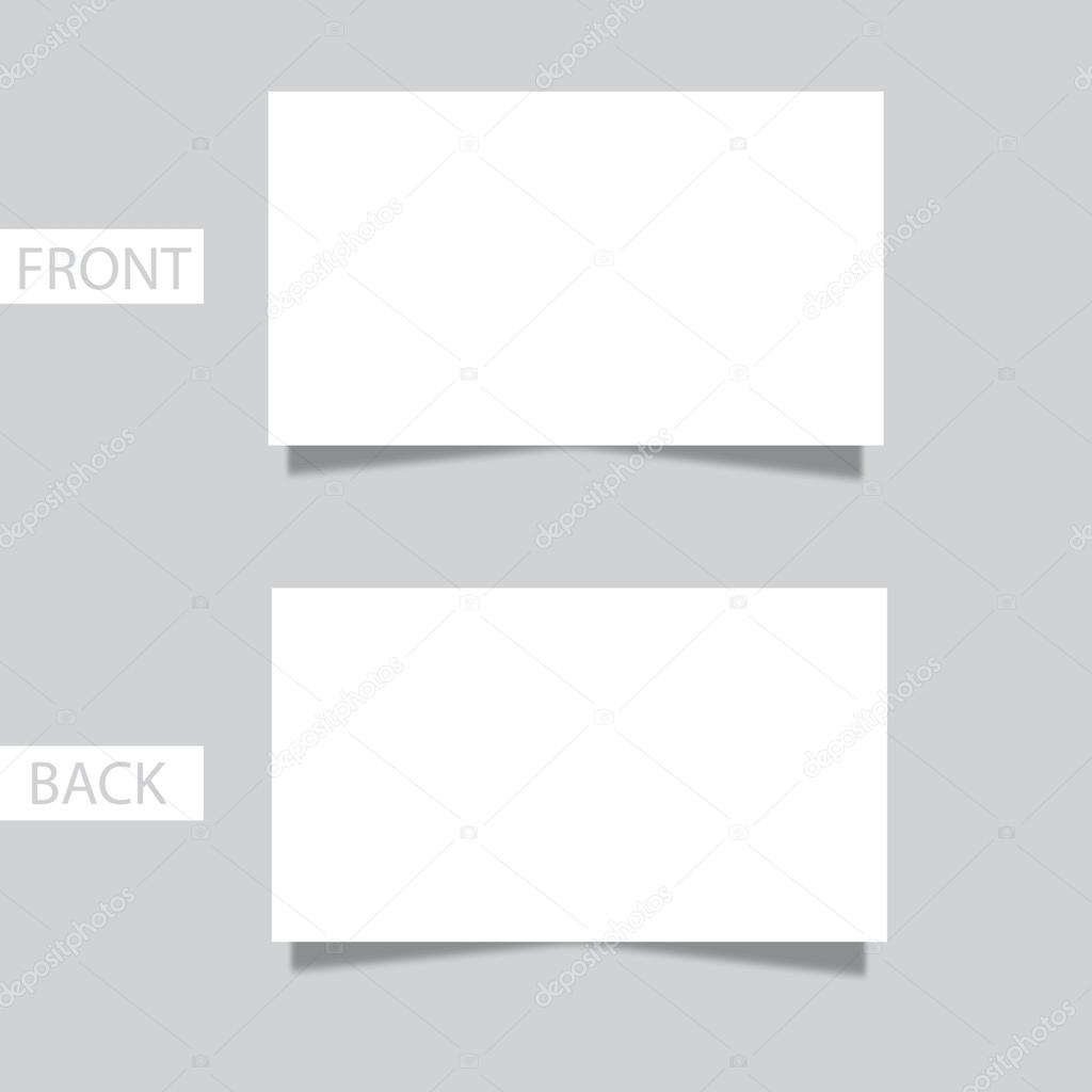 Pretty Blank Business Cards Contemporary - Business Card Ideas ...