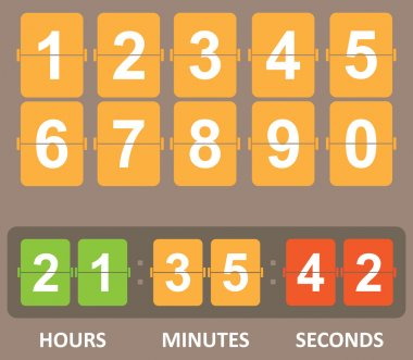 Color Countdown timer