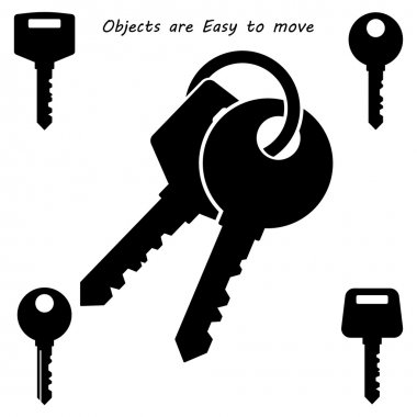Black Key Icon