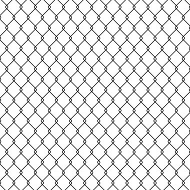Vector illustration of Steel Wire background stock vector