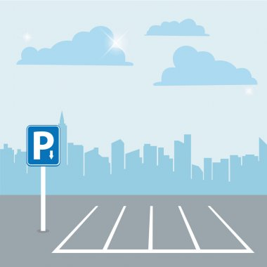 Parking zone and city