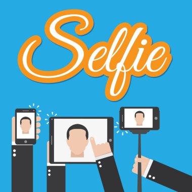 Selfie consept style