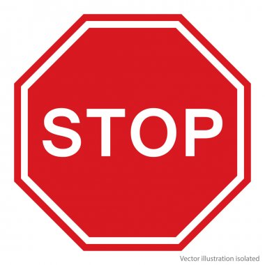 Stop Sign - Vector