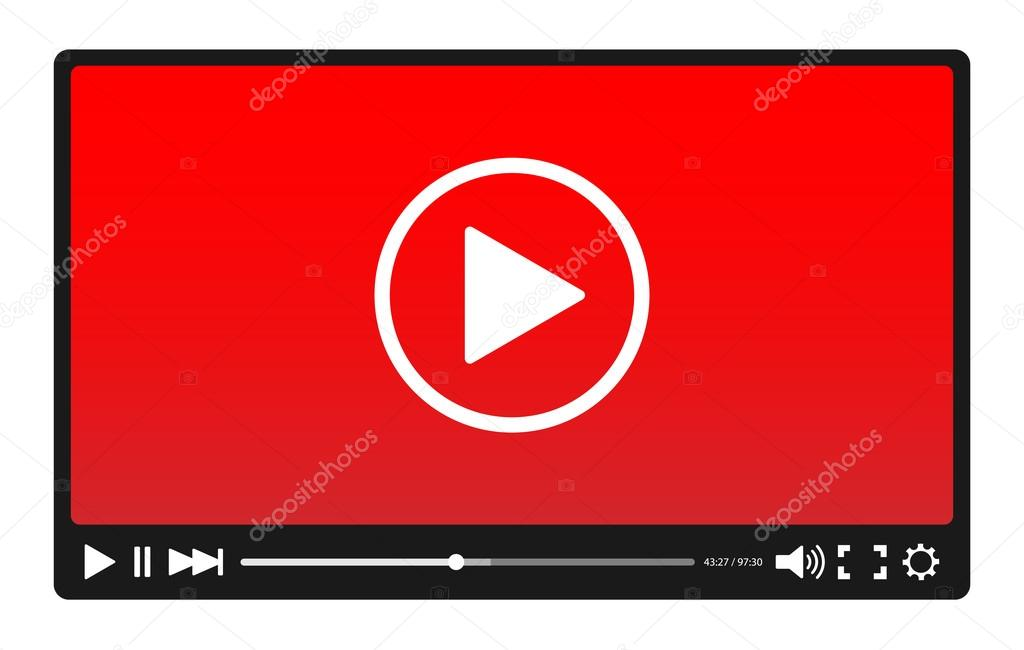 Video player with red