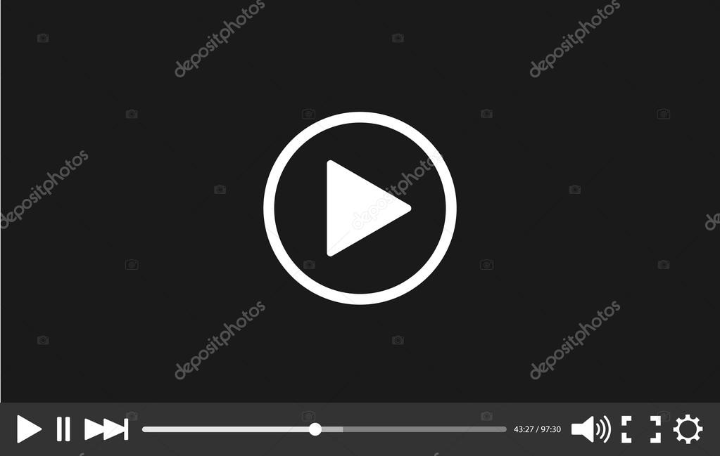 Video player with black