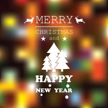 Words on Christmas card