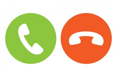Phone Call Symbols Icon