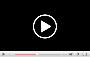 Video player background