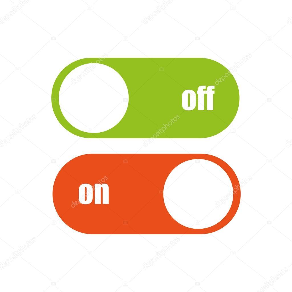 Toggle Switch Vector Icon Stock Vector 4zeva 82479890