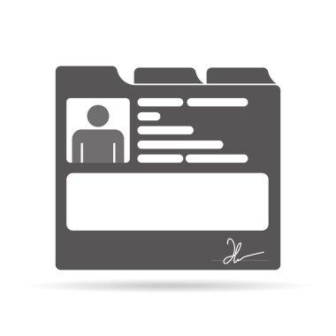 Medical card icon