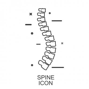 Spine Diagnostic. Vector