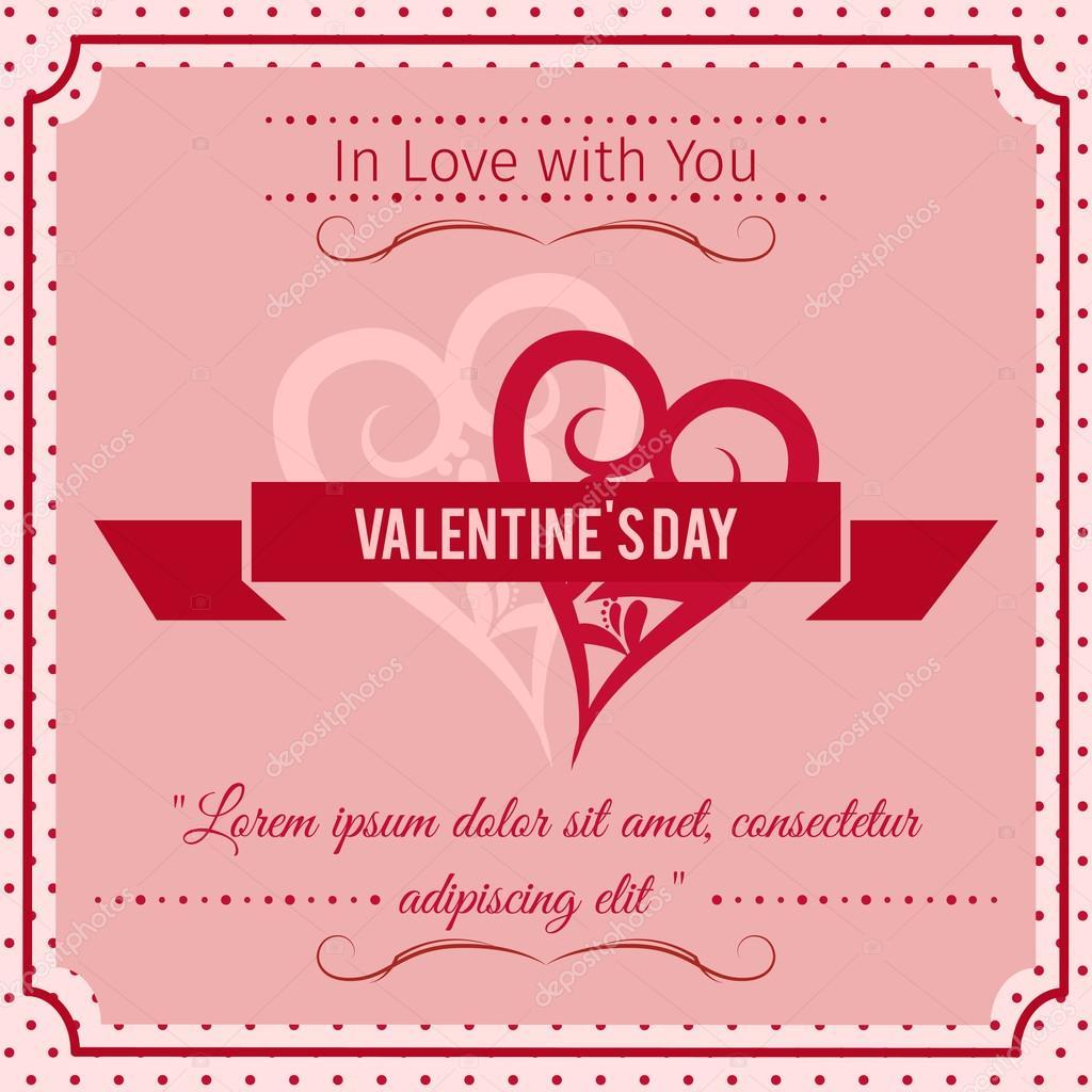 Amor Abstracto Frases Feliz Dia De San Valentin Fondo Abstracto