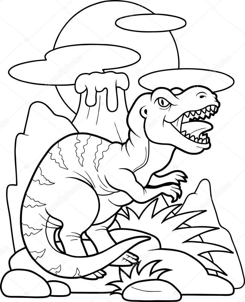 Funny Tyrannosaurus Rex Stock Vector C Fargon 94678090