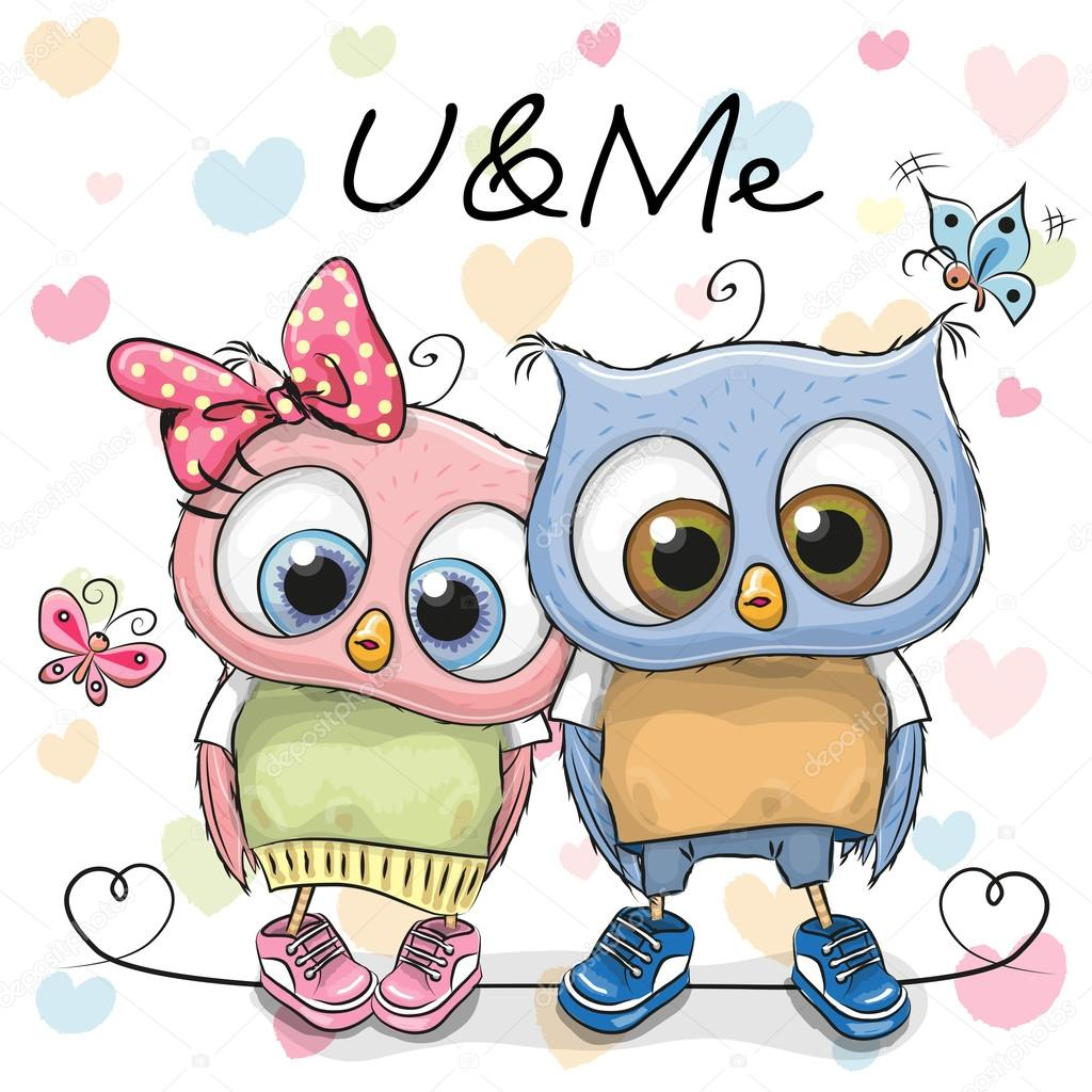 dos lindos buhos de dibujos animados archivo im u00e1genes cute owl clip art free cute owl clip art black and white