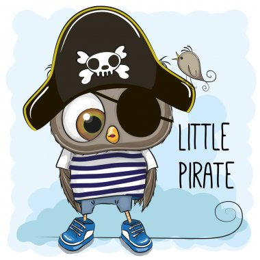 Little Owl Pirate