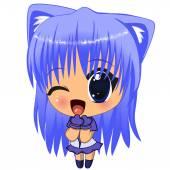 anime lány
