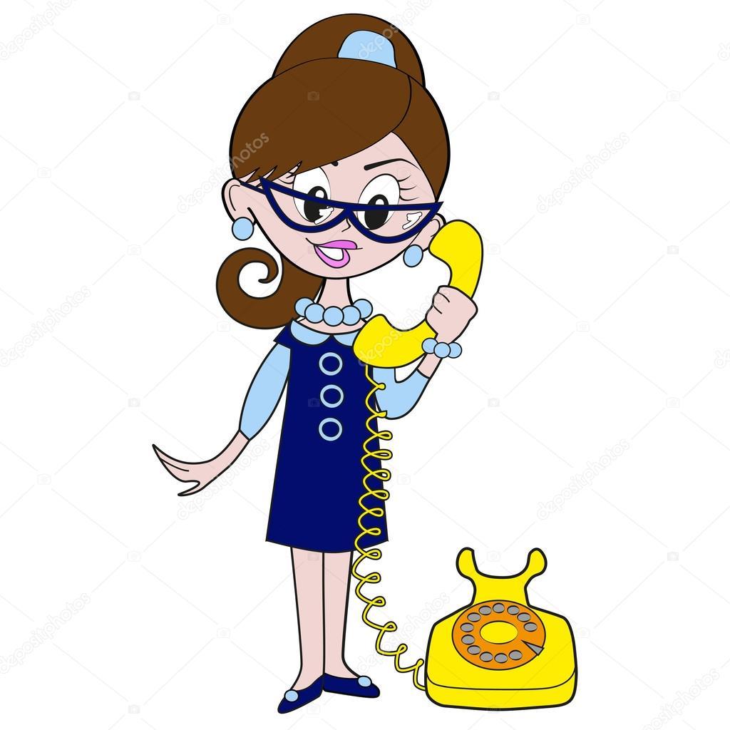 chica est u00e1 hablando por tel u00e9fono archivo im u00e1genes not talking clipart not talking clipart