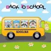 Fényképek Rajzfilm iskolabusz
