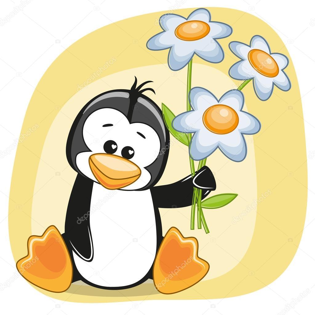 Ночи прикольные, поздравление пингвина картинки