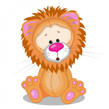 Cute Lion isolated