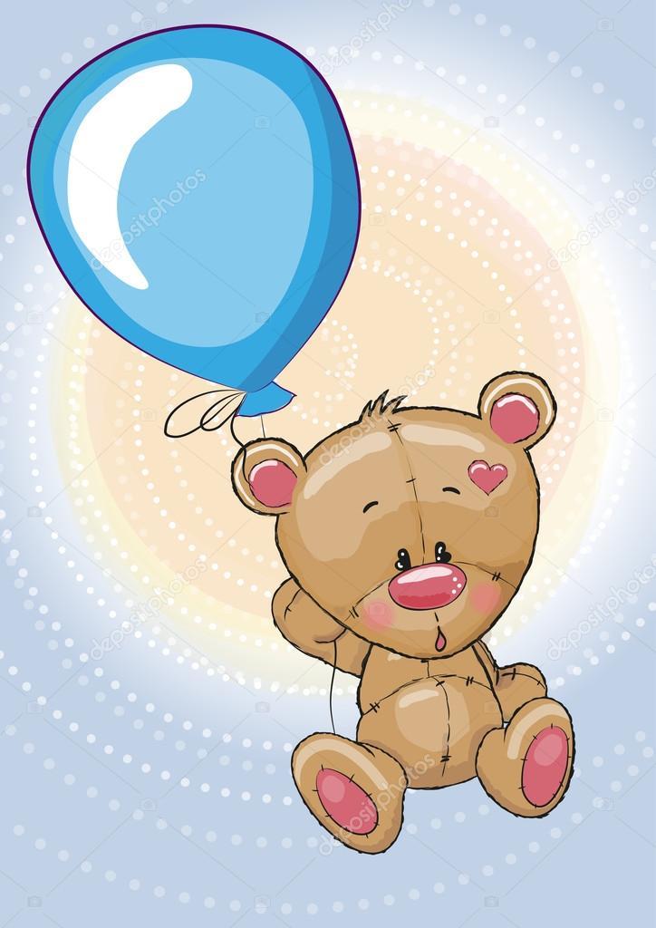 характеристикам возможность медвежонок на воздушном шаре картинки дом