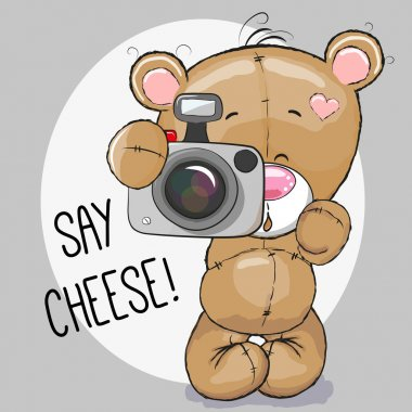 Bear with a camera