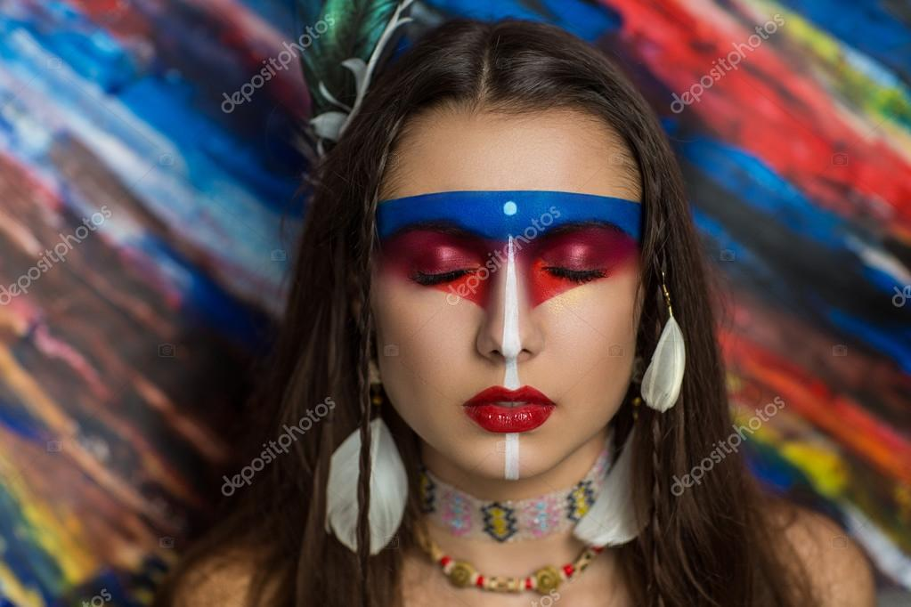 Native Mayan Or American Tribe Stock Photo C Olgaosa 110986106