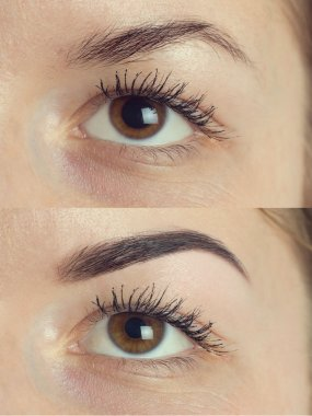 Perfect Eyebrows Before After