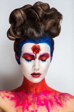 Crazy make up art