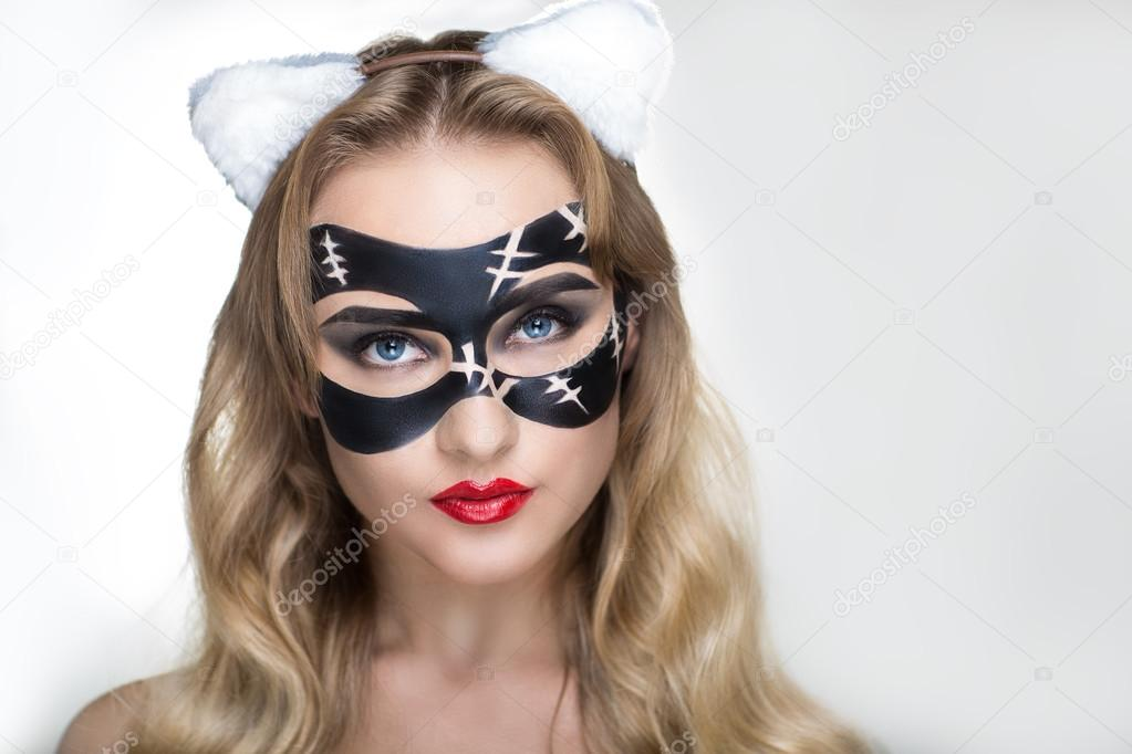 Halloween Art Makeup Stock Photo Olgaosa 87769566