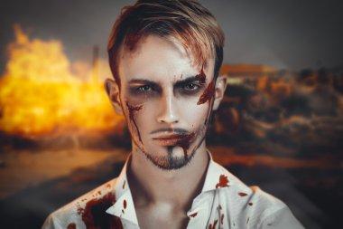 War man portrait