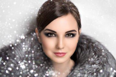 Snow pretty woman