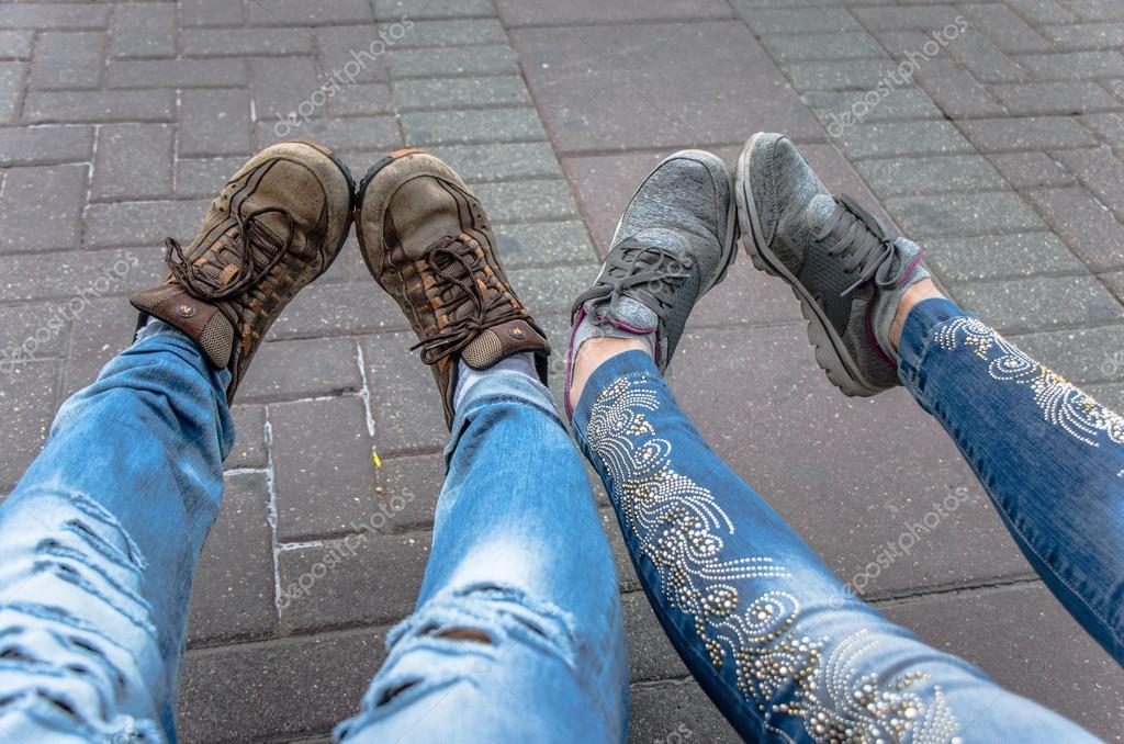 Feet and legs