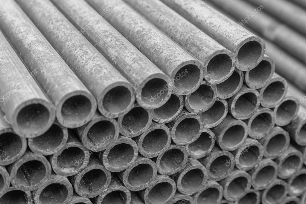 Bau Der Wasserleitung Asbest Stockfoto C Mr Prof 94868998
