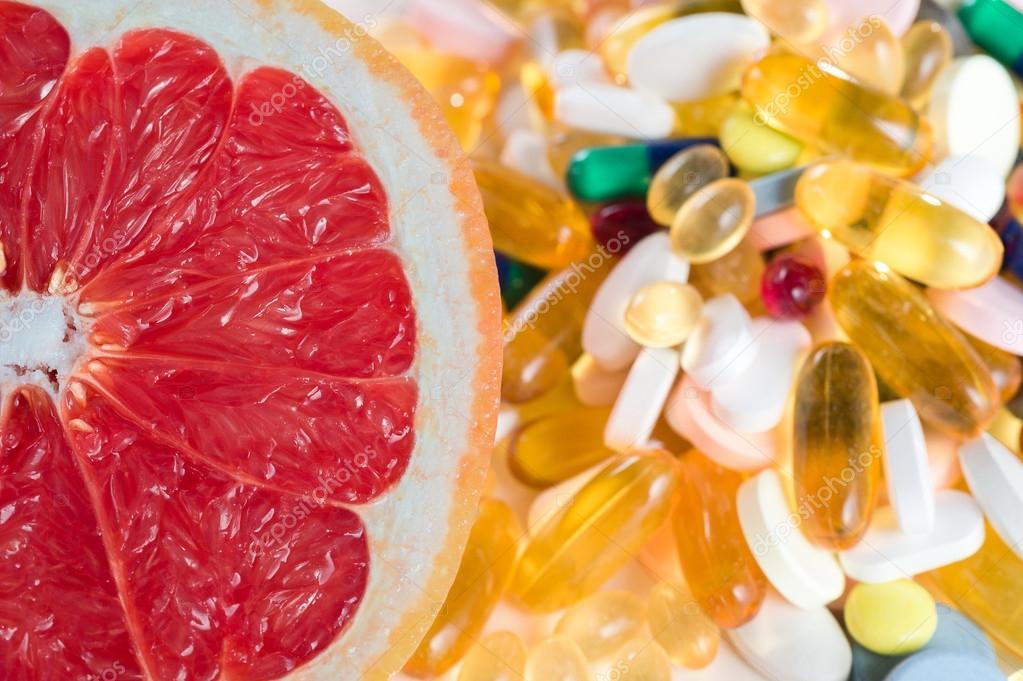 Грейпфрут диет таблетки