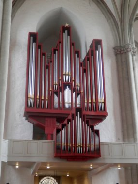 Organ pipes in Osnabruck