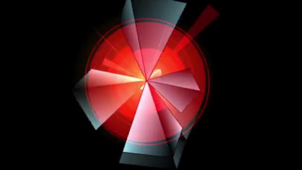 Prizma-piramis Kaleidoszkóp minta 04c