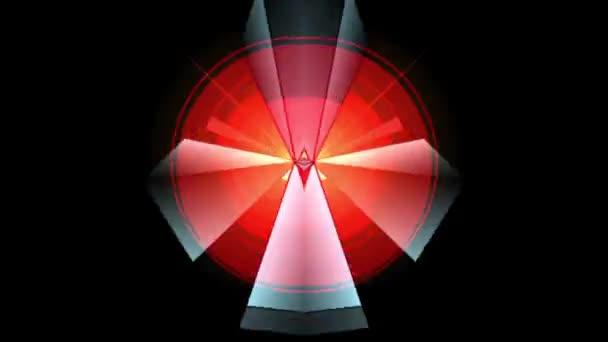 Prism-Pyramidal Kaleidoscopic Pattern 04