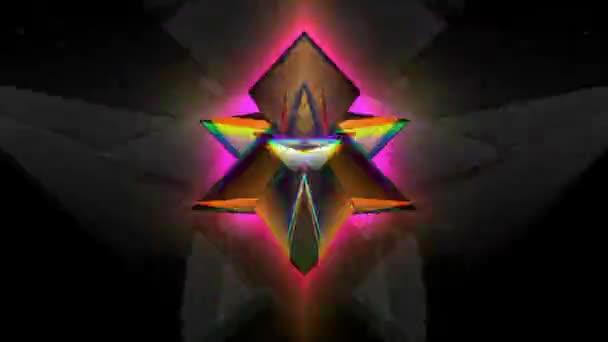 Prism-Pyramidal Kaleidoscopic Pattern 05