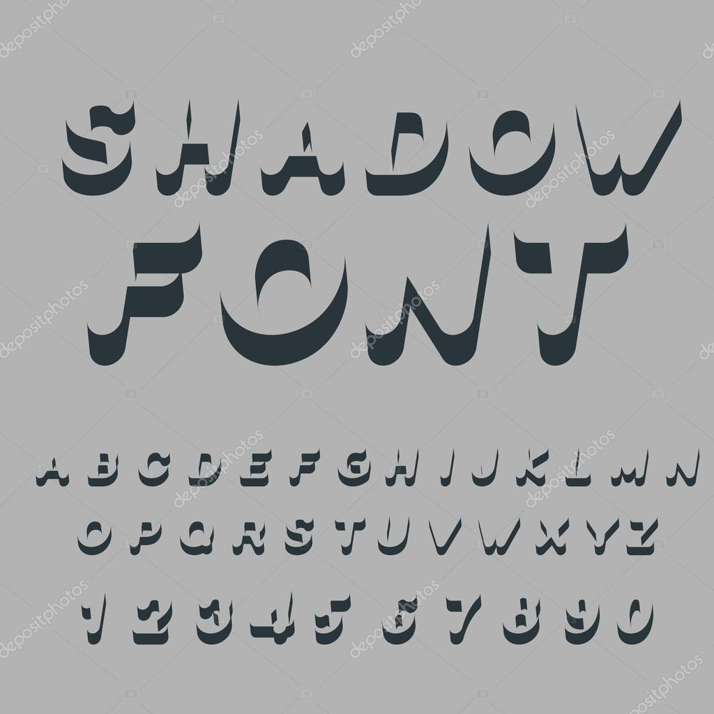Shadow font set of letters of drop shadow 3d letters of alphab set of letters of drop shadow 3d letters of alphab stock expocarfo