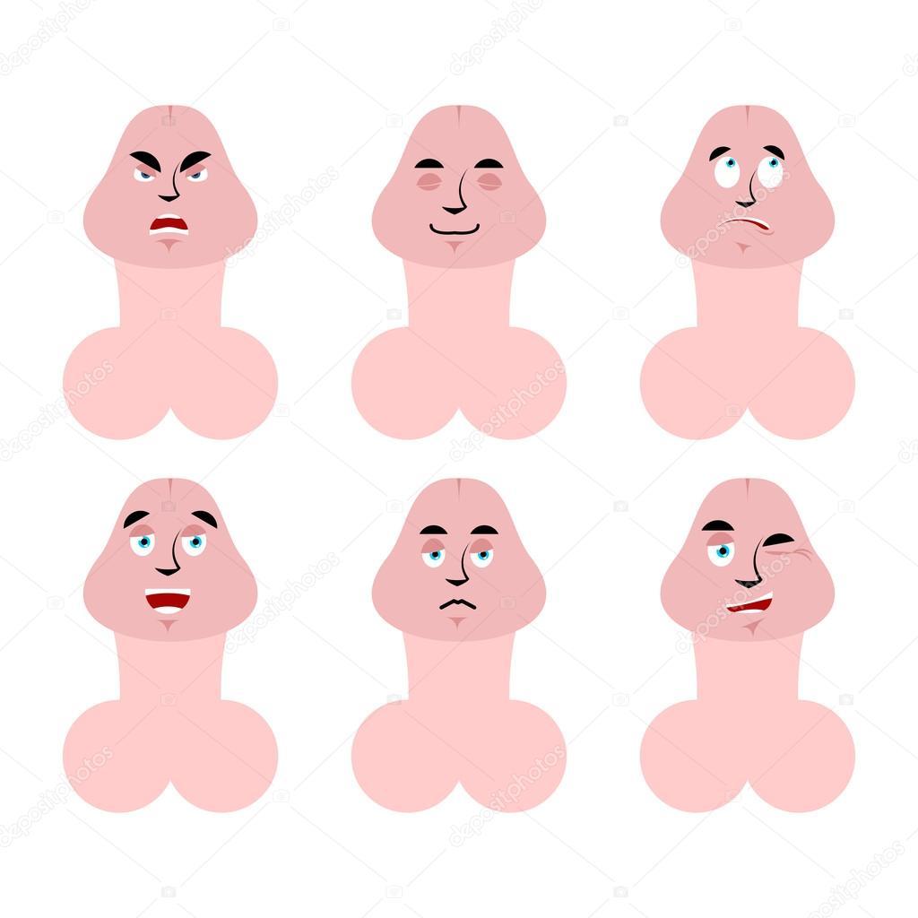 emoji în jos cu purtători de penis de ce este erectie slaba