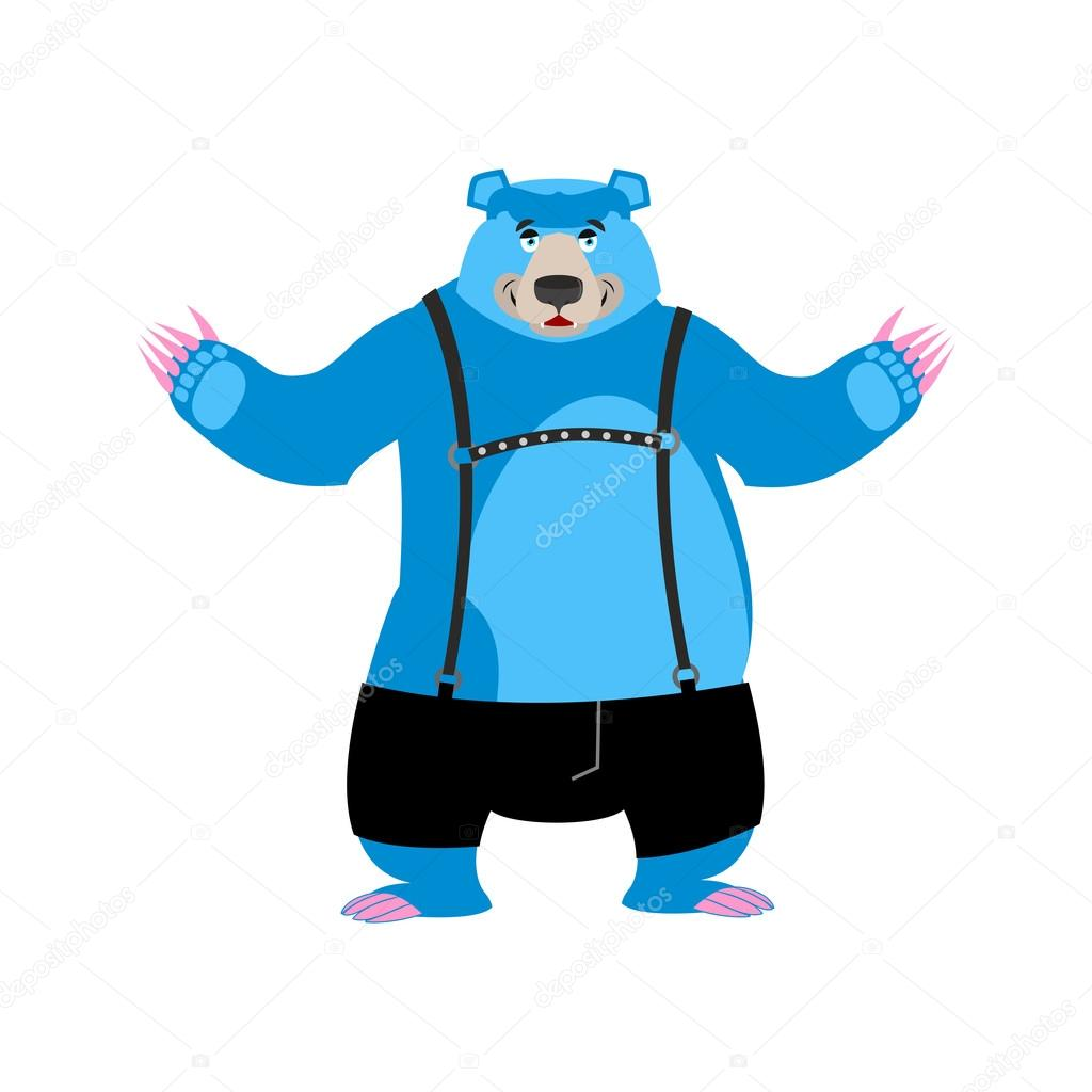 You strong gay bear consider, that