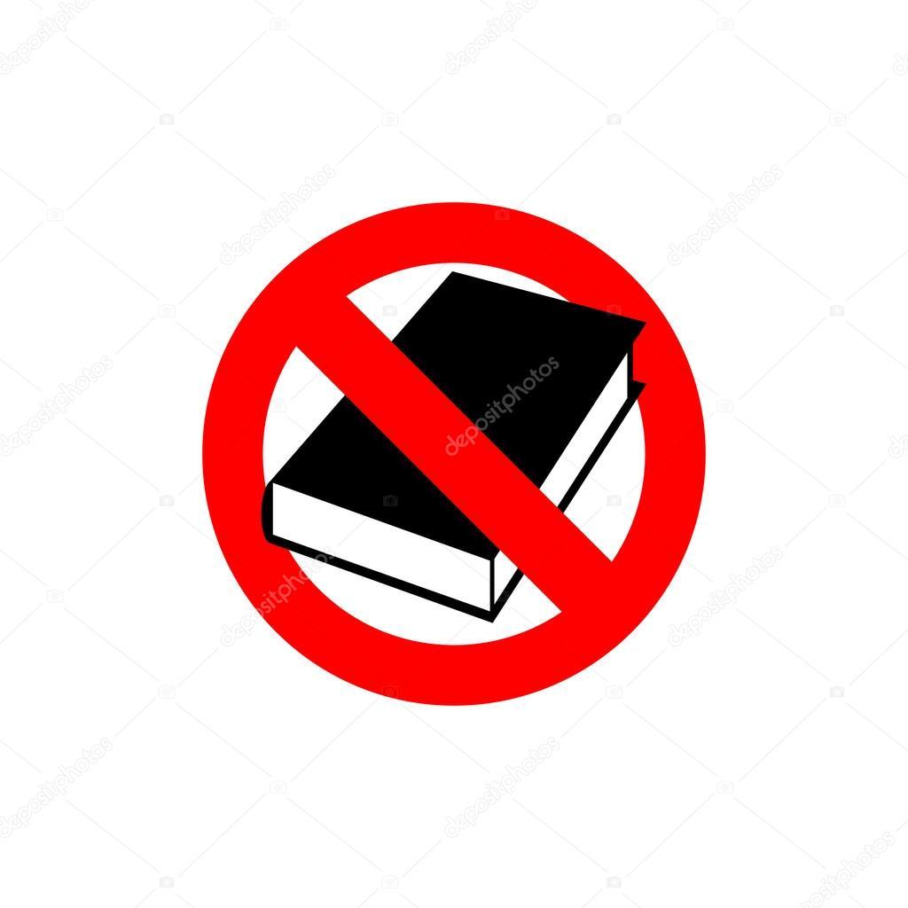 Запрет шпаргалок на картинке