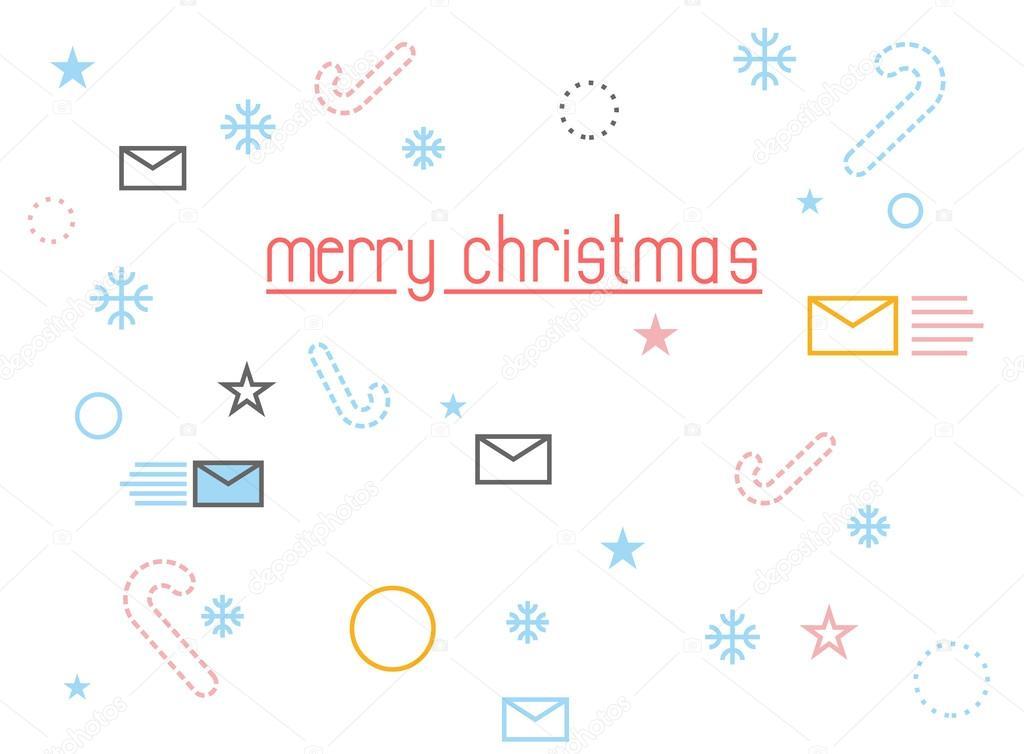 Frohe Weihnachten Brief.Frohe Weihnachten Urlaub Zubehor Brief An Den