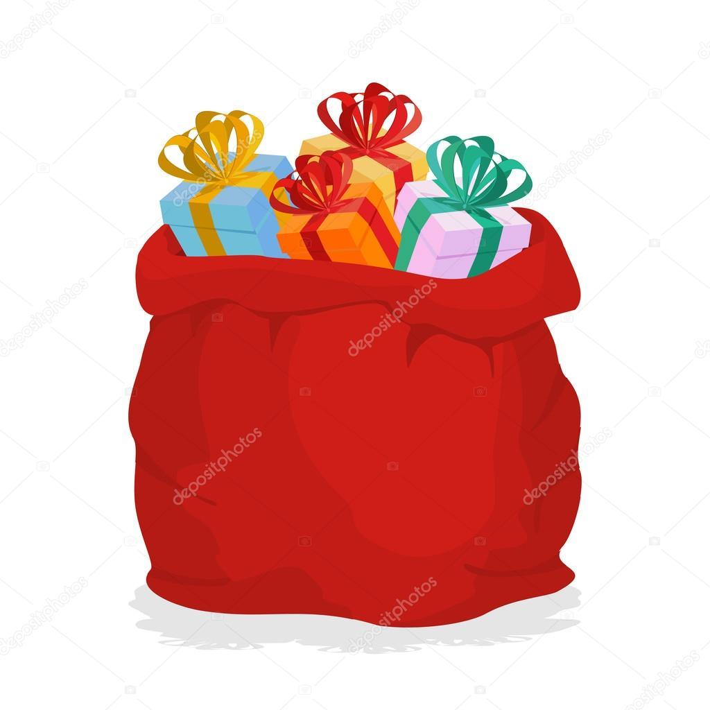 Волшебный мешок с подарками. Загадки для новогоднего