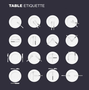 dining etiquette unofficial version. 16 characters to restaurant