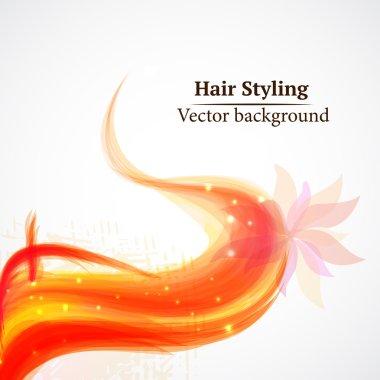 Hair styling. Beauty saloon.