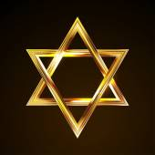 Photo bright star of David