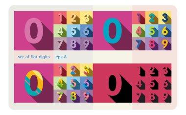 set of flat digits